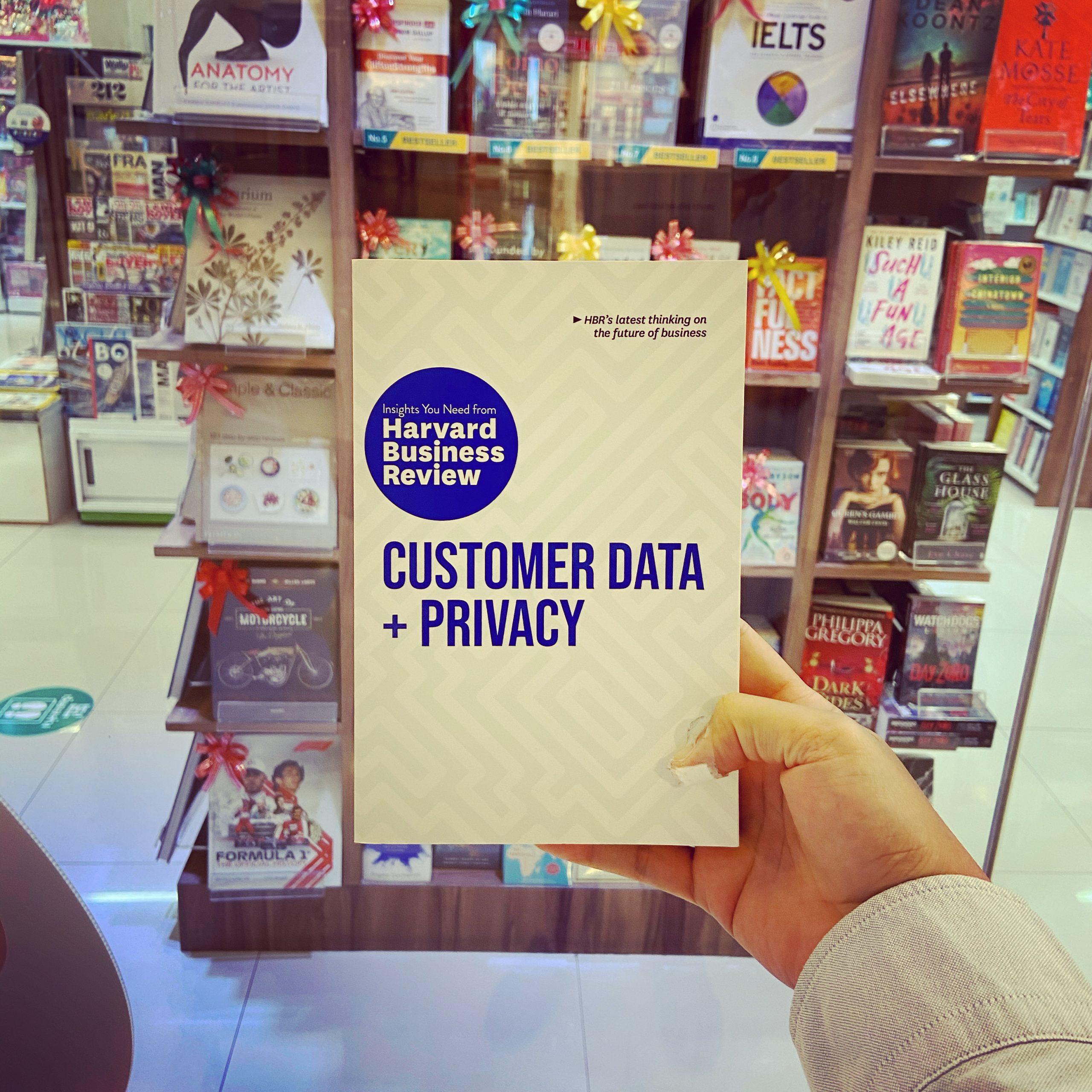 สรุปหนังสือ Customer Data + Privacy สำนักพิมพ์ Harvard Business Review เมื่อ Privacy & Security กลายเป็นหัวใจของ Business & Branding ยุค Data